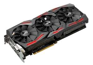 Carte Graphique Asus Geforce GTX 1080 Strix 8Go + 1 jeu offert (For Honor ou Ghost Recon : Wildlands)