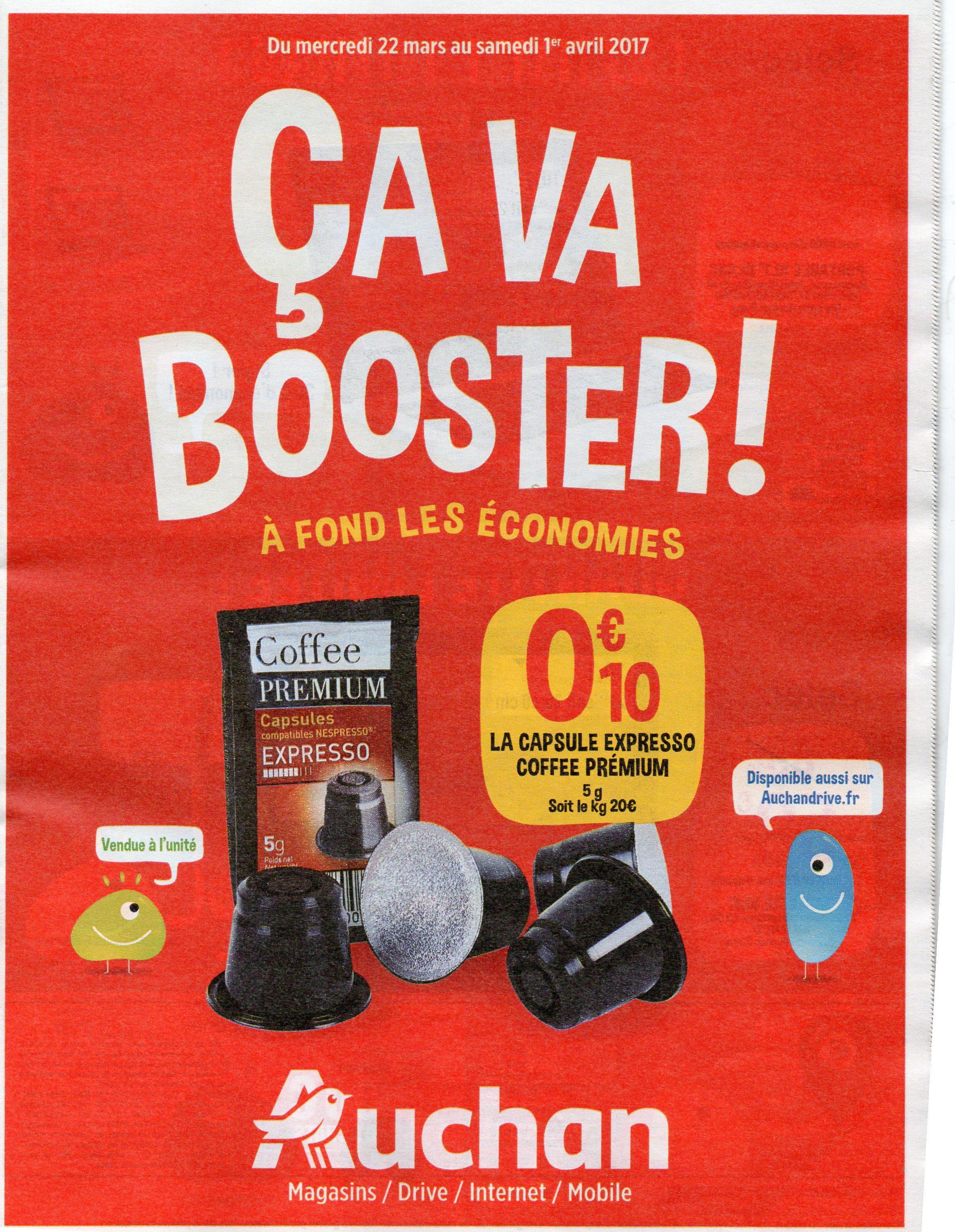 Bon reduction nespresso