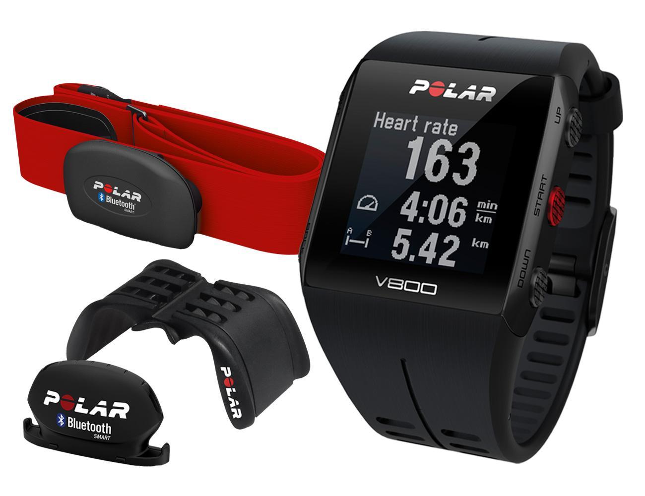 Montre GPS Polar V800 JGN Spécial édition + Accessoires