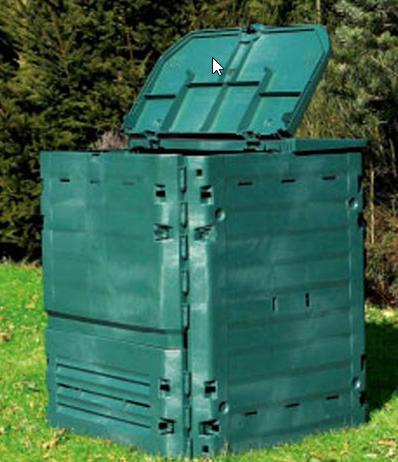 Distribution gratuite de composteurs en bois ou plastique pour les habitants