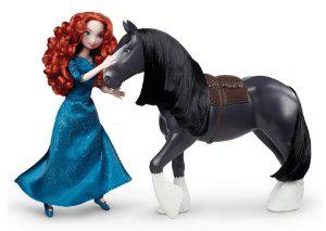 Poupée Disney Princesse Merida et son cheval Angus (7€ de frais de port)