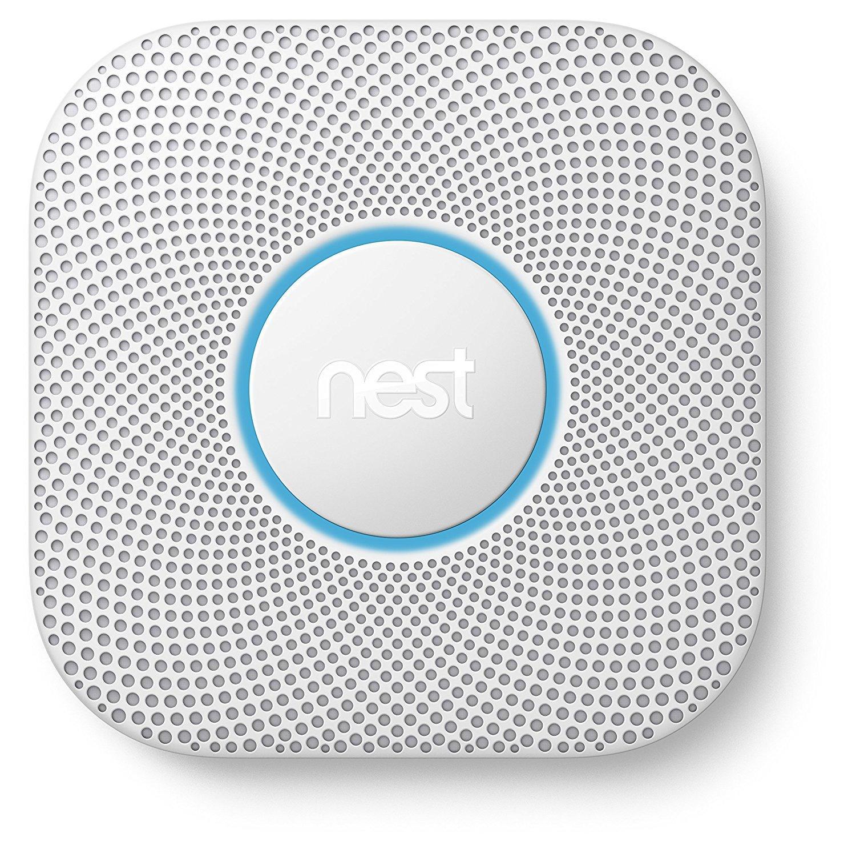 détecteur de fumée et monoxyde de carbone Nest Protect 2e génération