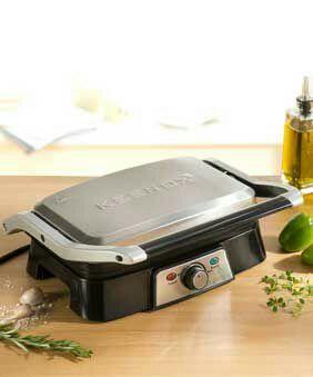 Grill multifonctions Gourm Keenox offert pour toute achat - Ex : Lot de 6 lames de rasoir + Grill