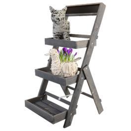 Étagère de jardin en bois pour plantes – Dealabs.com