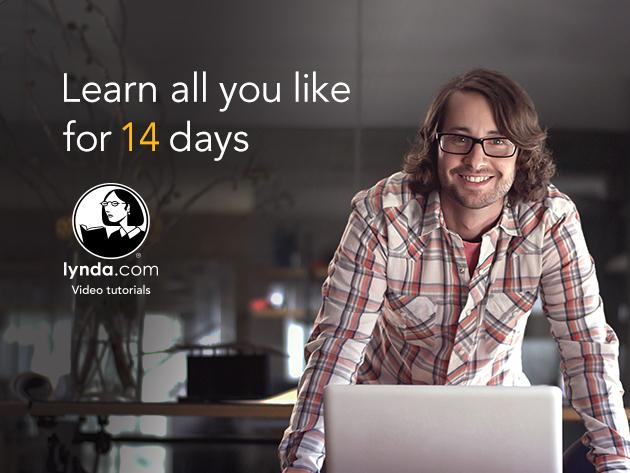 2 semaines de formation gratuites sur lynda.com (seulement en anglais)