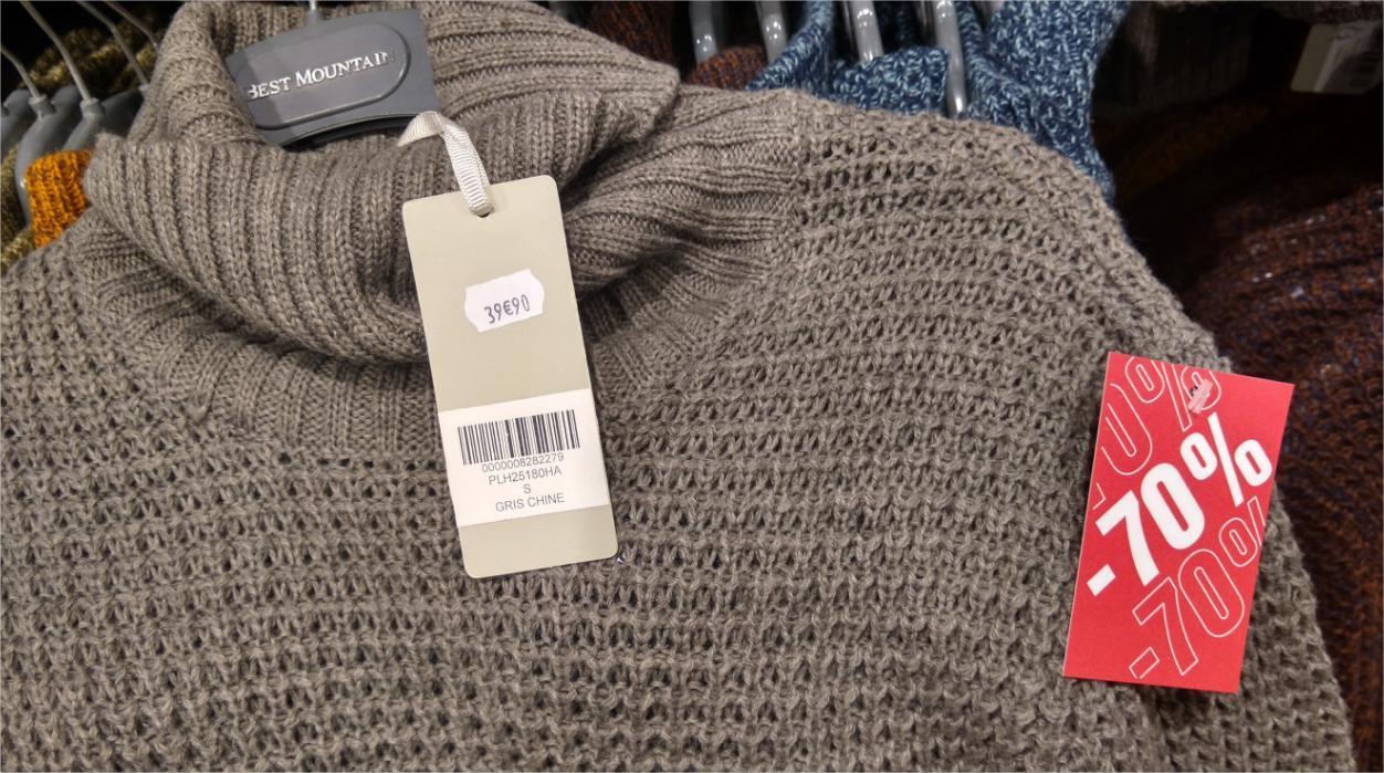 Promotion sur une sélection de marques (Levi's, Dockers, Desigual...) - Ex: Pull Best Moutain