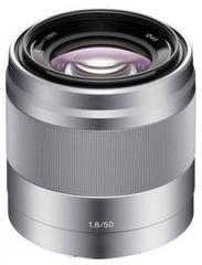 Objectif Sony NEX SEL-50F18 - E 50 mm F 1,8 pour portraits, stabilisateur optique - Reconditionné