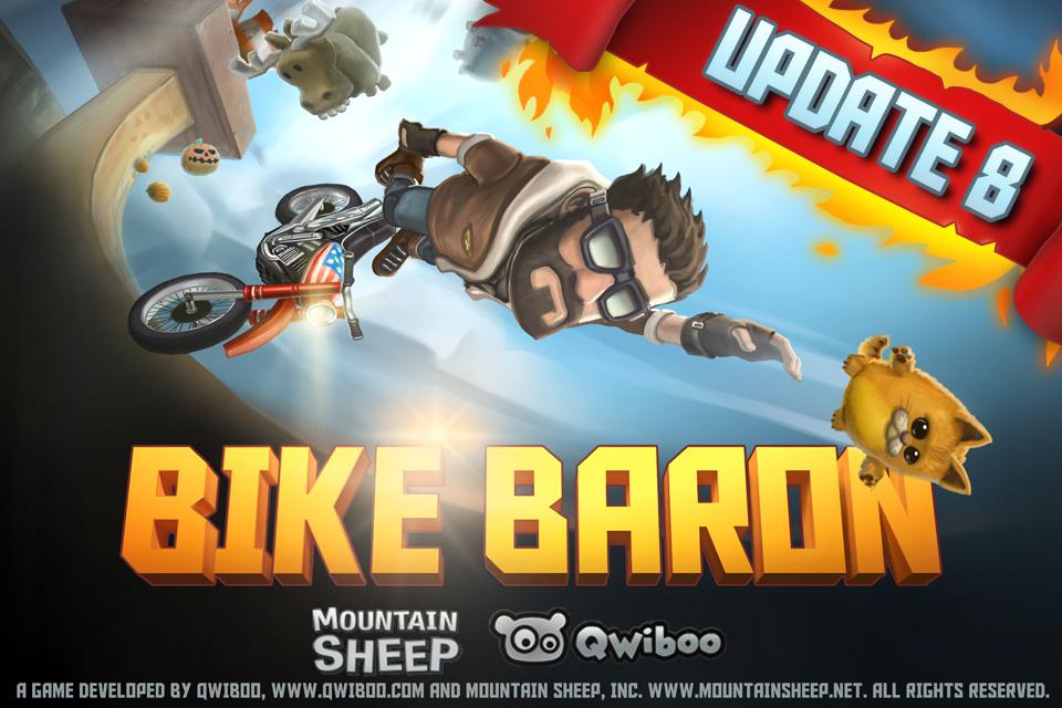 Bike-baron gratuit sur iOS (au lieu de 0.89€)