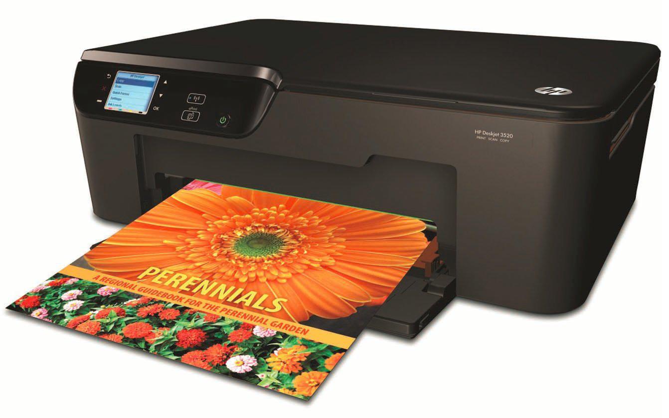 Imprimante Multifonction HP Deskjet 3520A - WiFi