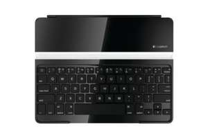 Logitech Ultrathin Keyboard Cover Protection avec clavier Bluetooth sans fil et support iPad