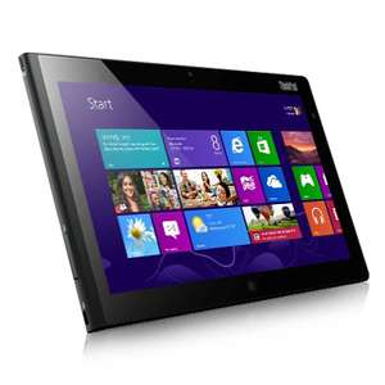 "Tablette 10.1"" IPS Lenovo ThinkPad Tablet 2 - Intel Atom Z2760 1.8 GHz, 2 Go RAM, 32 Go, Wi-Fi/NFC, Win8"