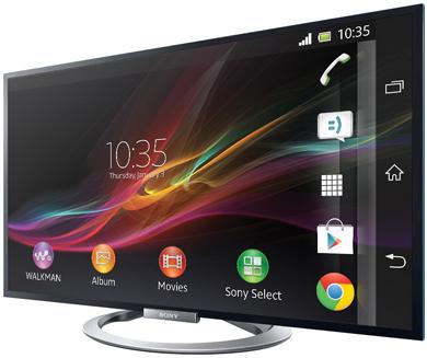 "Télévision Sony 55"" KDL-55W805A - Full HD 3D avec NFC - Reconditionné"