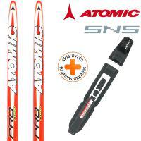 Pack ski de fond atomic pro Junior