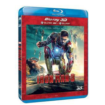 [Offre Adhérents 3 Ans] 50% du prix du DVD, Blu-Ray / Blu-ray 3D d'Iron Man 3 offert en chèque cadeau