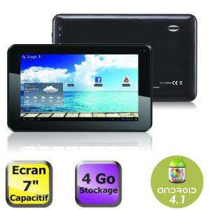 Tablette 7'' 4 Go Android 4.1 (AllWinner A13 1,2 Ghz, 512 Mo)
