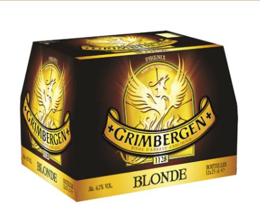 2 Pack de Grimbergen Blonde 12x25cl (1 acheté = 1 offert)