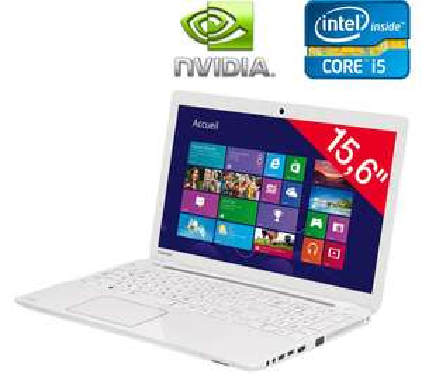 PC portable Toshiba Satellite L50-A-173 + Tablette Toshiba Excite Pure (AT10-A-104) (avec ODR de 300€)