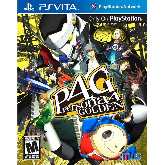 Persona 4 : Golden PS Vita
