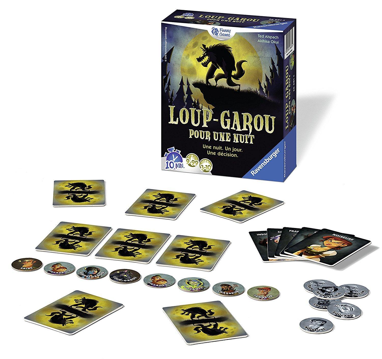 Sélection de Jeux et Puzzles Ravensburger à -50% - Ex : Loup garou pour une nuit (via ODR)