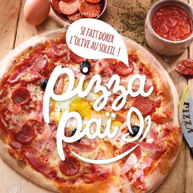 1 pizza classique achetée =1 offerte