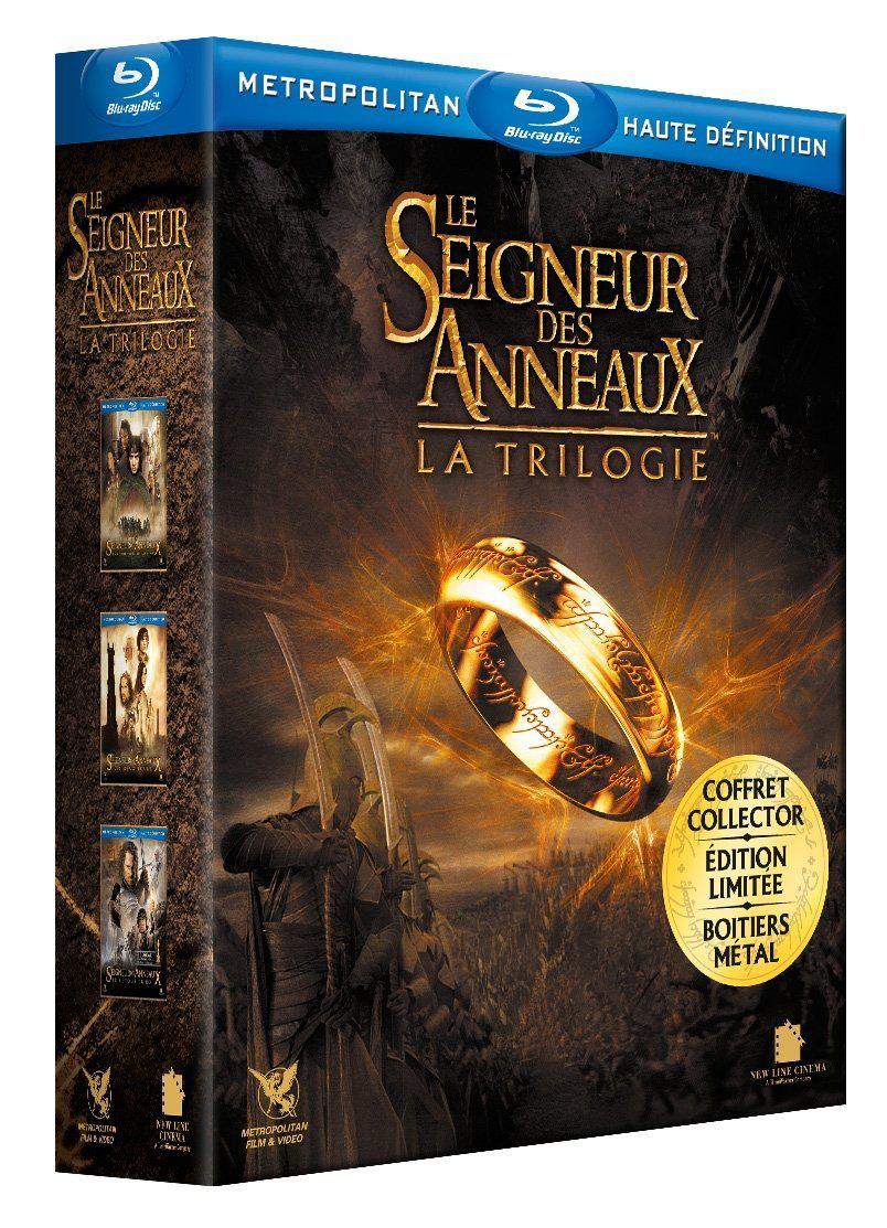 Le Seigneur des Anneaux La trilogie Boitier métal [Blu-ray]