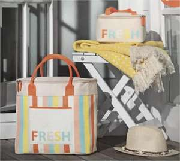 2 gants de toilette + 2 sacs isothermes Fresh offerts