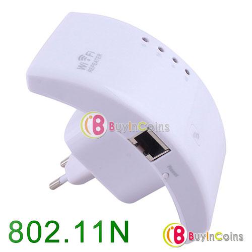 Répéteur de signal Wi-Fi 802.11n 300Mbps