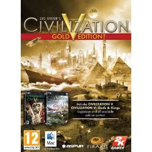 Sid Meier's Civilization V: Gold Edition sur Mac (Steam) - et extensions Brave New World/Gods and Kings