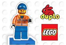 20% de réduction  dès 25€ d'achat sur les articles Lego et Duplo