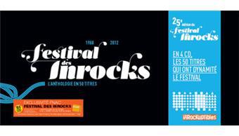 Coffret 25ème festival des Inrocks - 3 CD / frais de port gratuit