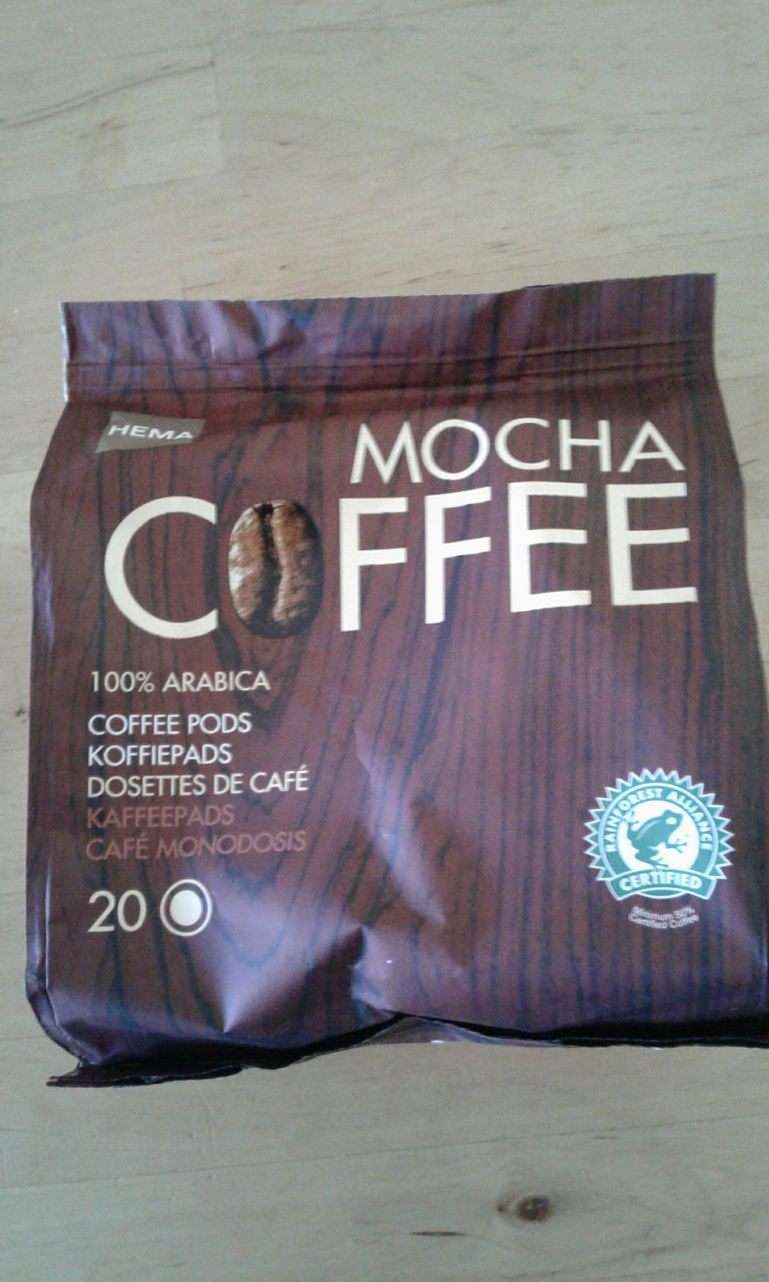 3 Paquets de 30 dosettes Mocha coffee Hema compatibles Senso