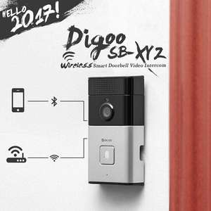Sonnette video sans fil Digoo SB-XYZ - Bluetooth et Wifi