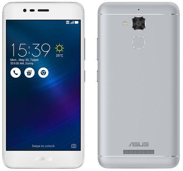 "Smartphone 5.2"" Asus Zenfone 3 Max Or ou Argent - 32 Go"