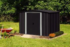 Abri De Jardin En Metal 2 53x1 97x1 72m Dealabs Com