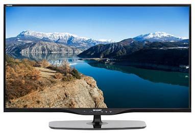 """TV 39"""" Sharp LC39LE652E LED 3D Connecté Full HD + 2 paires de lunettes 3D"""