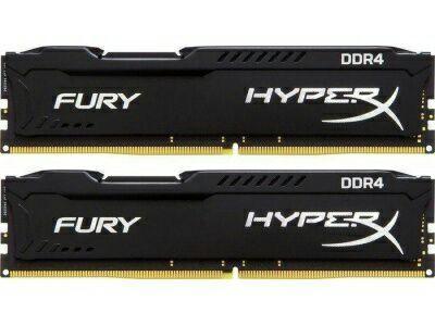 Mémoire DDR4 Kingston HyperX Fury - 8 Go (2 x 4 Go), 2666Mhz