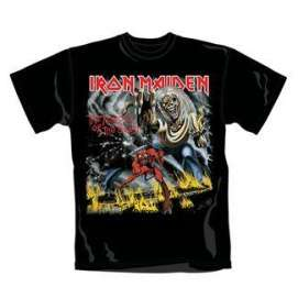 "1000éme deal : T-shirt Iron Maiden ""Number of the beast"" Taille M"