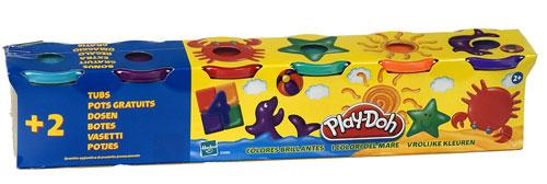 6 pots de pâtes à modeler Play Doh