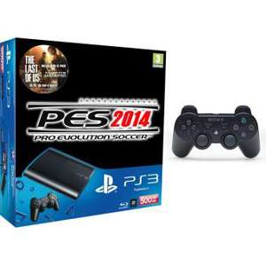 Console PS3 500Go + PES 2014 + The Last Of Us + 1 Manette supplémentaire