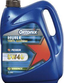 Huile Moteur Optonix -25% sur la carte (Ex : Huile 5W40)