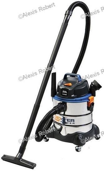 Aspirateur cuve eau et poussière Dexter - 1400W, 20L