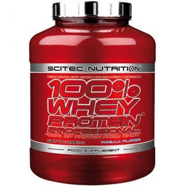 100% Whey professionnel (2,350kg) Scitec Nutrition - Pomme-Caramel
