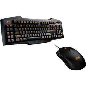 Pack Gaming Asus Clavier Strix Tactic Pro + Souris Claw Dark Edition