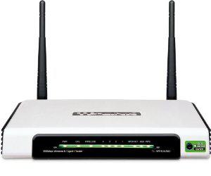 Routeur Gigabit sans fil N- TP-Link TL-WR1042ND Switch 4 ports - USB multifonction 300 Mbps
