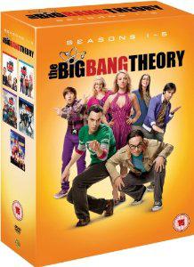 The Big Bang Theory - Saisons 1 à 5 (DVD) [Import Anglais]