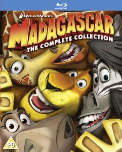 Coffret Blu-ray Madagascar 1 à 3