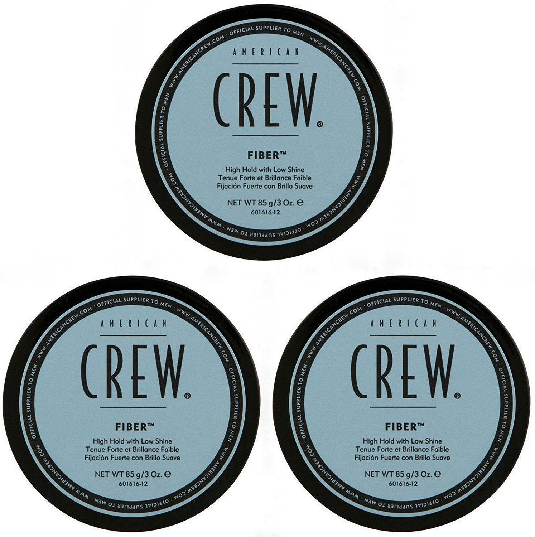 Lot de 3 pots de cire coiffante American Crew (3×85g)