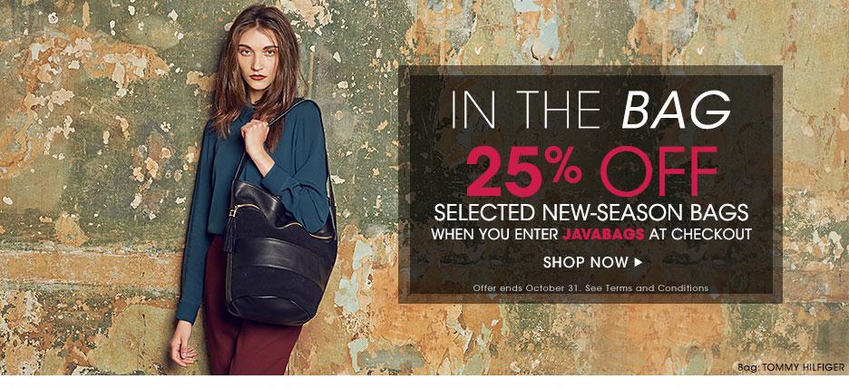 -25% de réduction sur une sélection de sacs