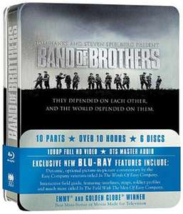 Coffret Blu-ray Steelbox Intégrale Band Of Brothers (Port: 6.32€)