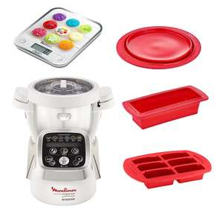 Robot cuiseur Moulinex Companion YY2970FG + Kit Patisserie avec Balance